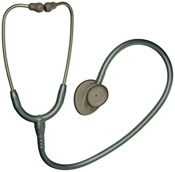 3M Littmann Lightweight II SE Stethoscope, Seafoam Green Tube, 28 inch, 2455