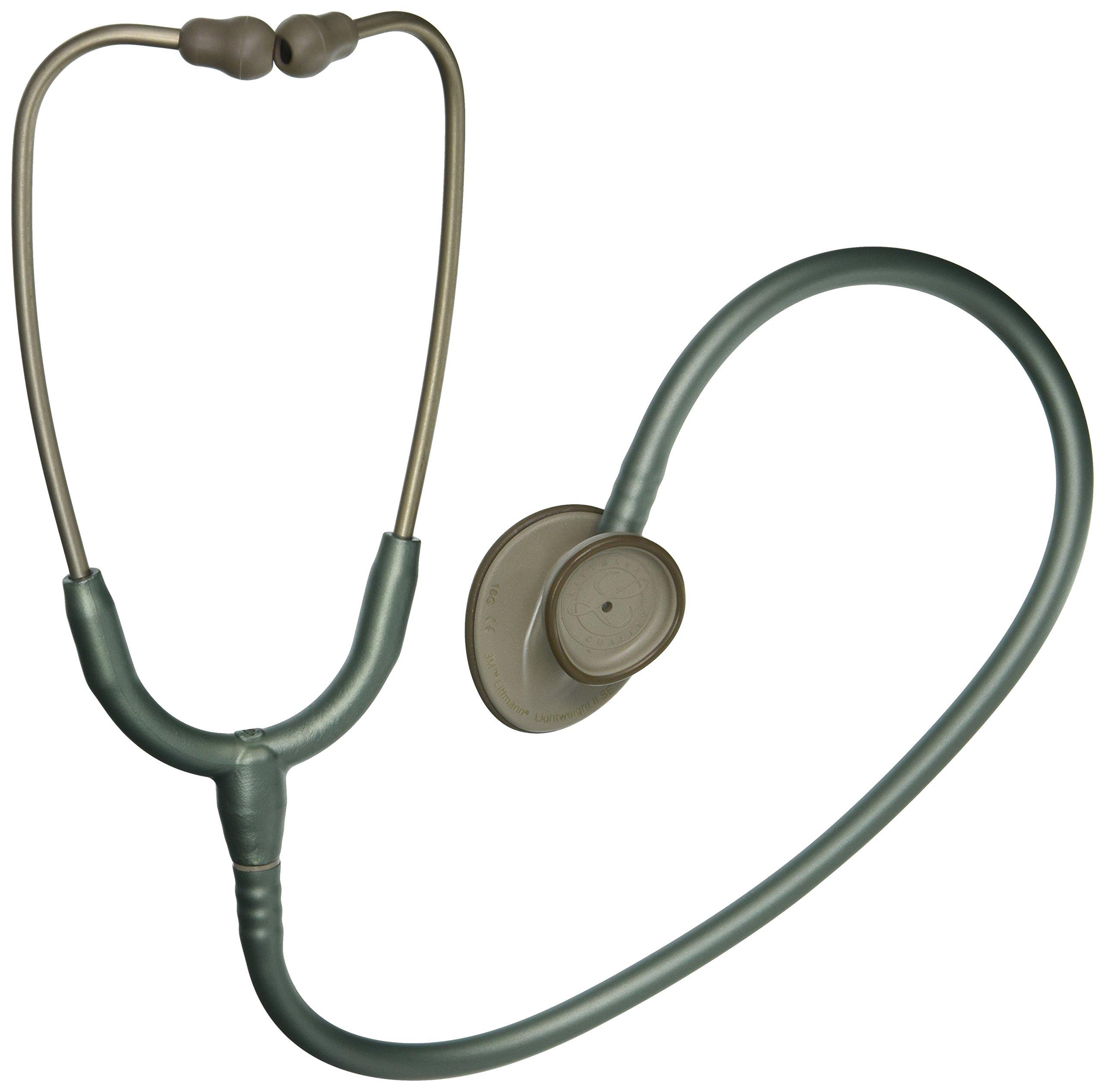 3M Littmann Lightweight II S.E. Stethoscope, Seafoam Green Tube, 28 inch, 2455