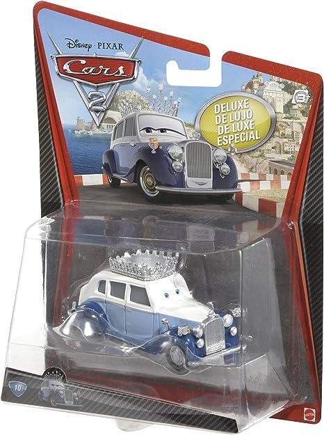 Disney Pixar Cars 2 The queen /& Sgt Highgear Diecast Toy Car Boys Gifts
