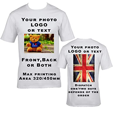 discount collection famous designer brand new style & luxury T-Shirts, Personalised Tees, Front & Back Print, Great for Gifts, Workwear,  Uniform & Events!