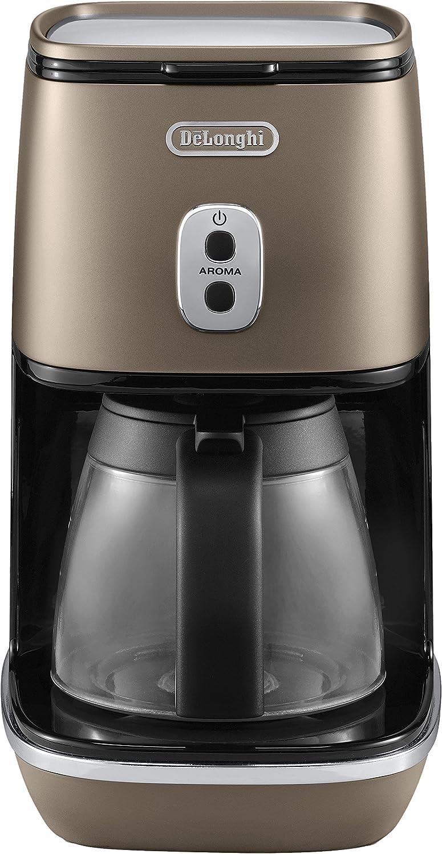 DeLonghi ICMI 211.BZ - Cafetera (Independiente, Cafetera de filtro, 1,25 L, De café molido, 1000 W, Bronce): Amazon.es: Hogar