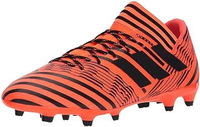 b7076470c33 adidas Men's Nemeziz 17.3 FG Soccer Shoe, Solar Orange/Black/Black, 11  Medium US