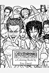 Vampires A Coloring Book Paperback