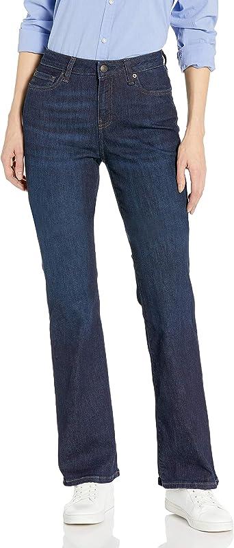 Amazon Essentials Pantalones Tejanos De Corte Entallado Con Corte Para Botas Para Mujer Amazon Es Ropa Y Accesorios