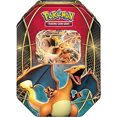 Pokemon Card Game EX Power Trio Charizard EX TIN: Toys & Games