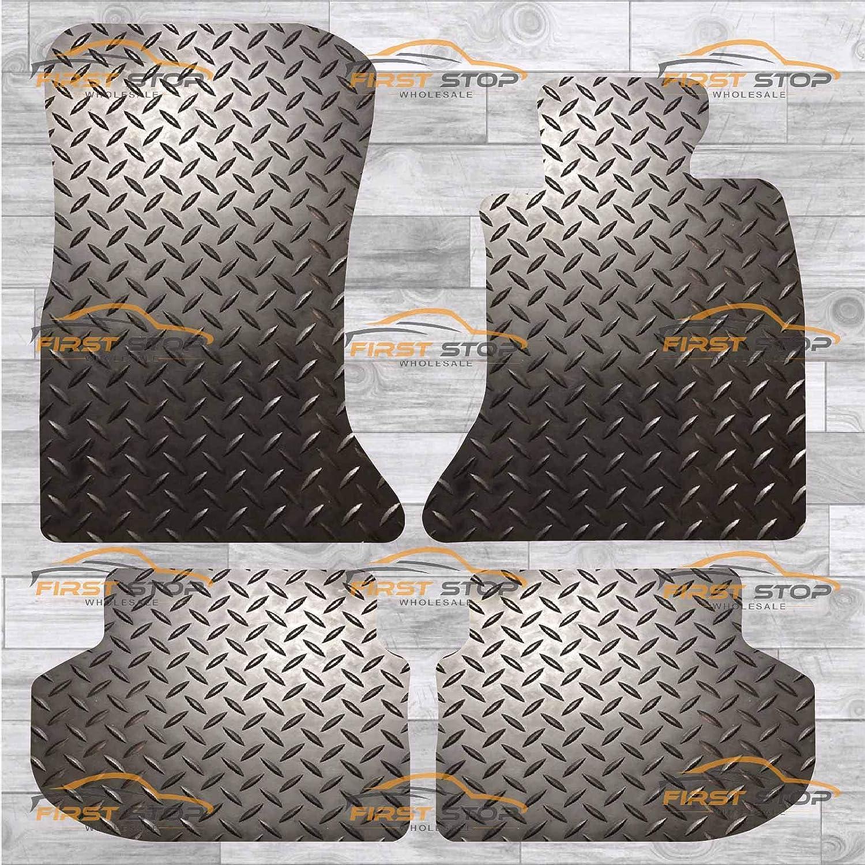 FSW 5 Series F10-F11 2013-2017 Tailored 3MM Waterproof Rubber Heavy Duty Floor Mats