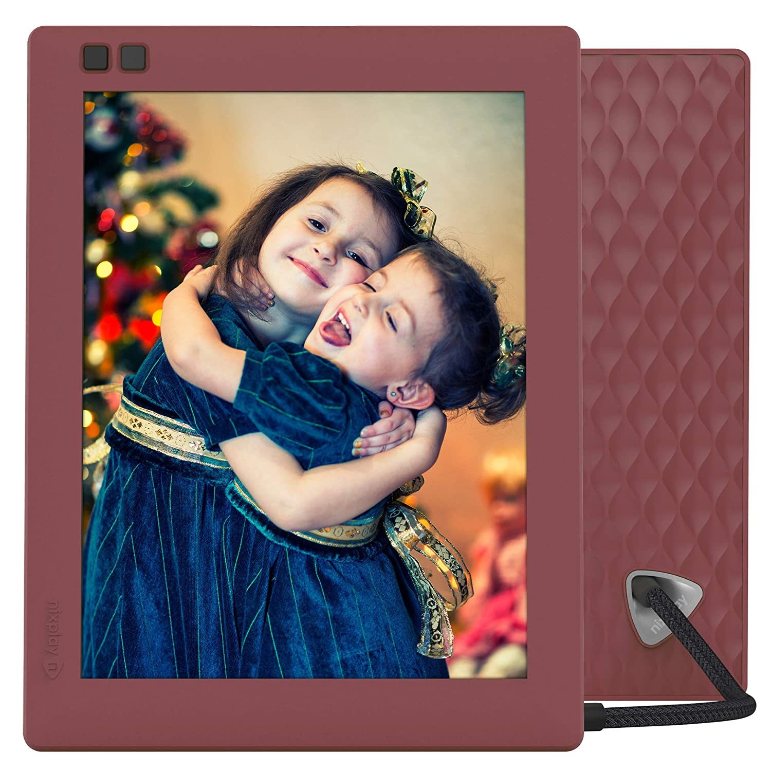 Nixplay Seed 8 inch WiFi Digital Photo Frame - Blue W08D - Blue