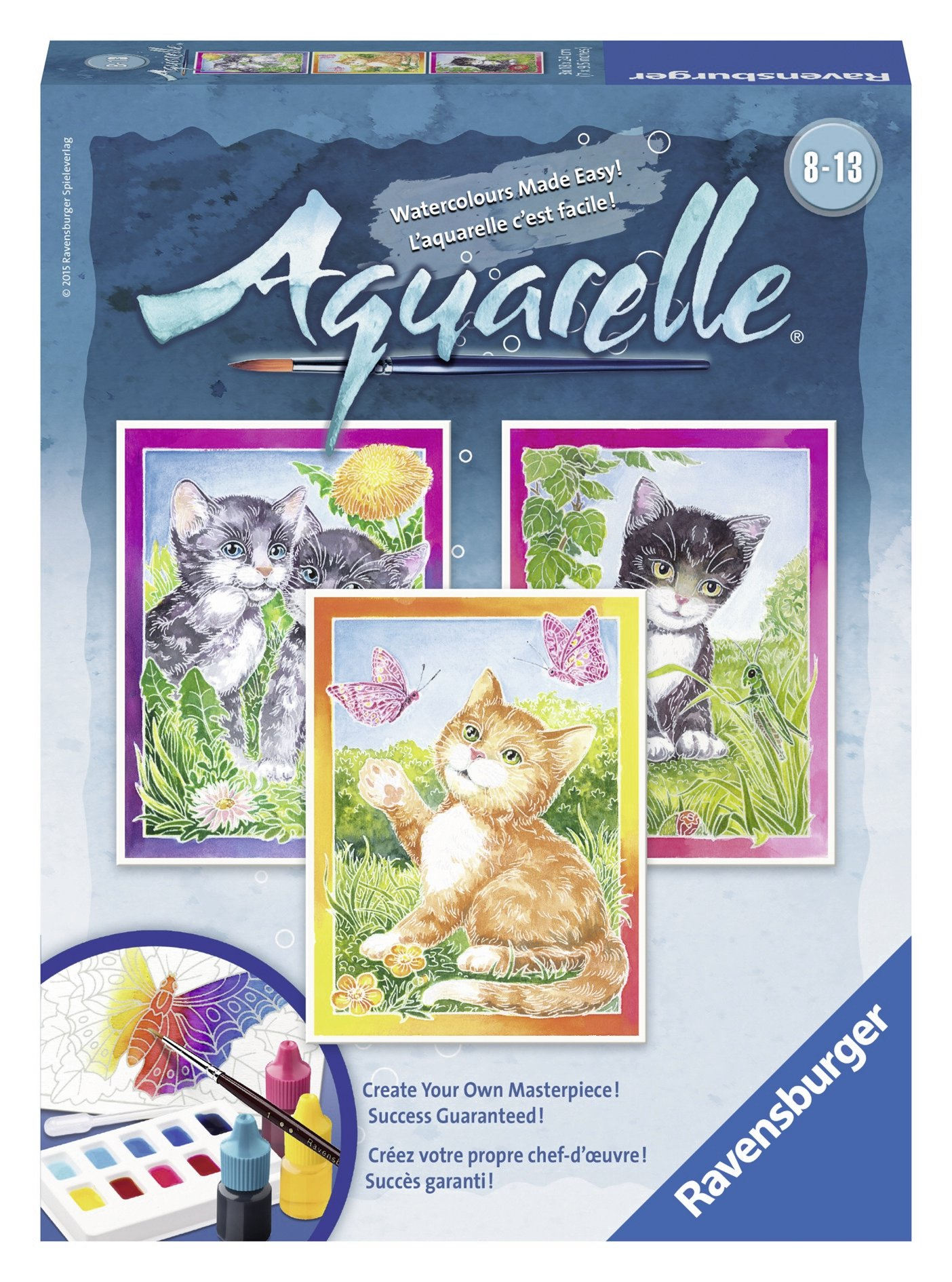 Ravensburger Aquarelle Cats - Arts & Crafts Kit
