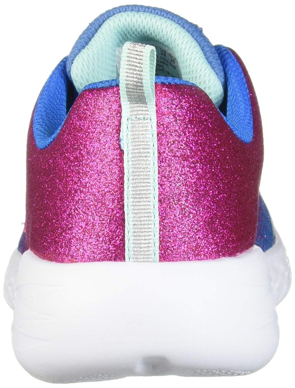 Skechers Kids Girls  Go Run 600-sparkle Runner Sneaker 82020L