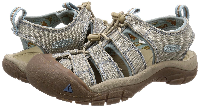 KEEN Women's Newport H2 Sandal B071YDS91F 10.5 B(M) US|Hemp/Provincial Blue