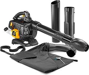 McCulloch 00096-78.653.01 GBV 322 VX Soplador aspirador de gasolina para jardín con motor de 800 vatios, potencia de aspiración de 45 l, 370 km/h: Amazon.es: Bricolaje y herramientas