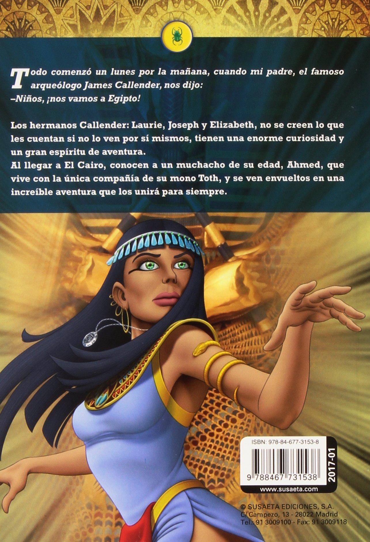 Amazon.com: La maldición de Tutankamón (EL CLUB DE LOS SABUESOS) (Spanish  Edition) (9788467731538): Inc. Susaeta Publishing: Books