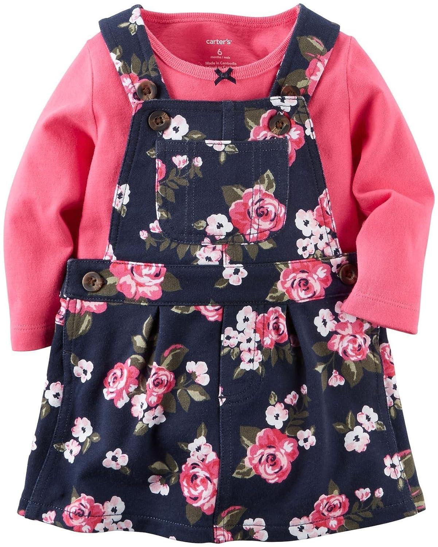 30a4076164cc Amazon.com  Carter s Baby Girls  2 Piece Print Jumper Set (Baby ...