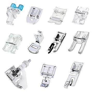 ZKSM - Juego de 11 prensatelas para máquina de coser y ...