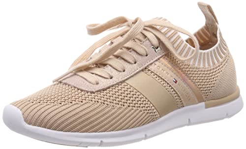 Tommy Hilfiger Knitted Light Weight Sneaker, Zapatillas para Mujer, Rosa (Dusty Rose 502), 39 EU: Amazon.es: Zapatos y complementos