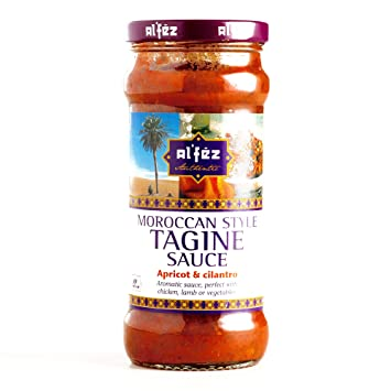 Al Fez Apricot and Cilantro Tagine Sauce 11.6 oz each (1 Item Per Order)