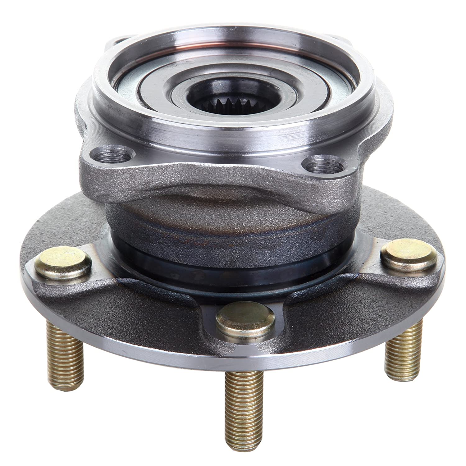 SCITOO 512291 Rear Wheel Hub Bearing Assembly fit 2004 2005 2006 2007 2008 Mitsubishi Endeavor 5 Lugs 065783-5206-1146361