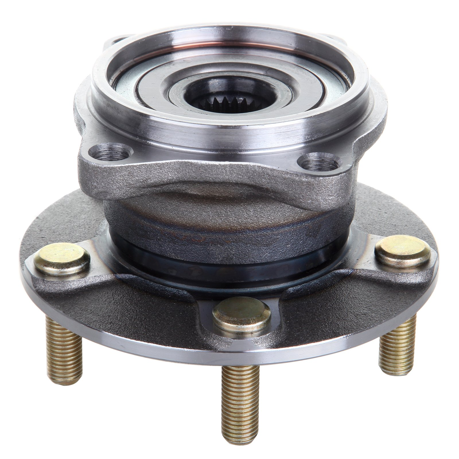 SCITOO 512291 Rear Wheel Hub Bearing Assembly fit 2004 2005 2006 2007 2008 Mitsubishi Endeavor 5 Lugs