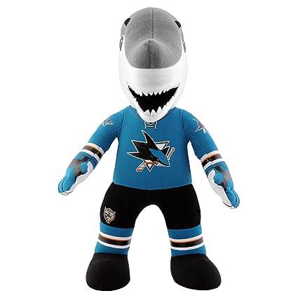Amazon Com Nhl San Jose Sharks Sharkie Mascot Plush Doll 6 5 Inch