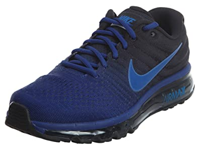 newest 3d847 31925 Nike Men s Air Max 2017 DEEP ROYAL BLUE HYPER COBALT Deep Royal Blue Hyper  Cobalt 8.5 D(M) US  Buy Online at Low Prices in India - Amazon.in