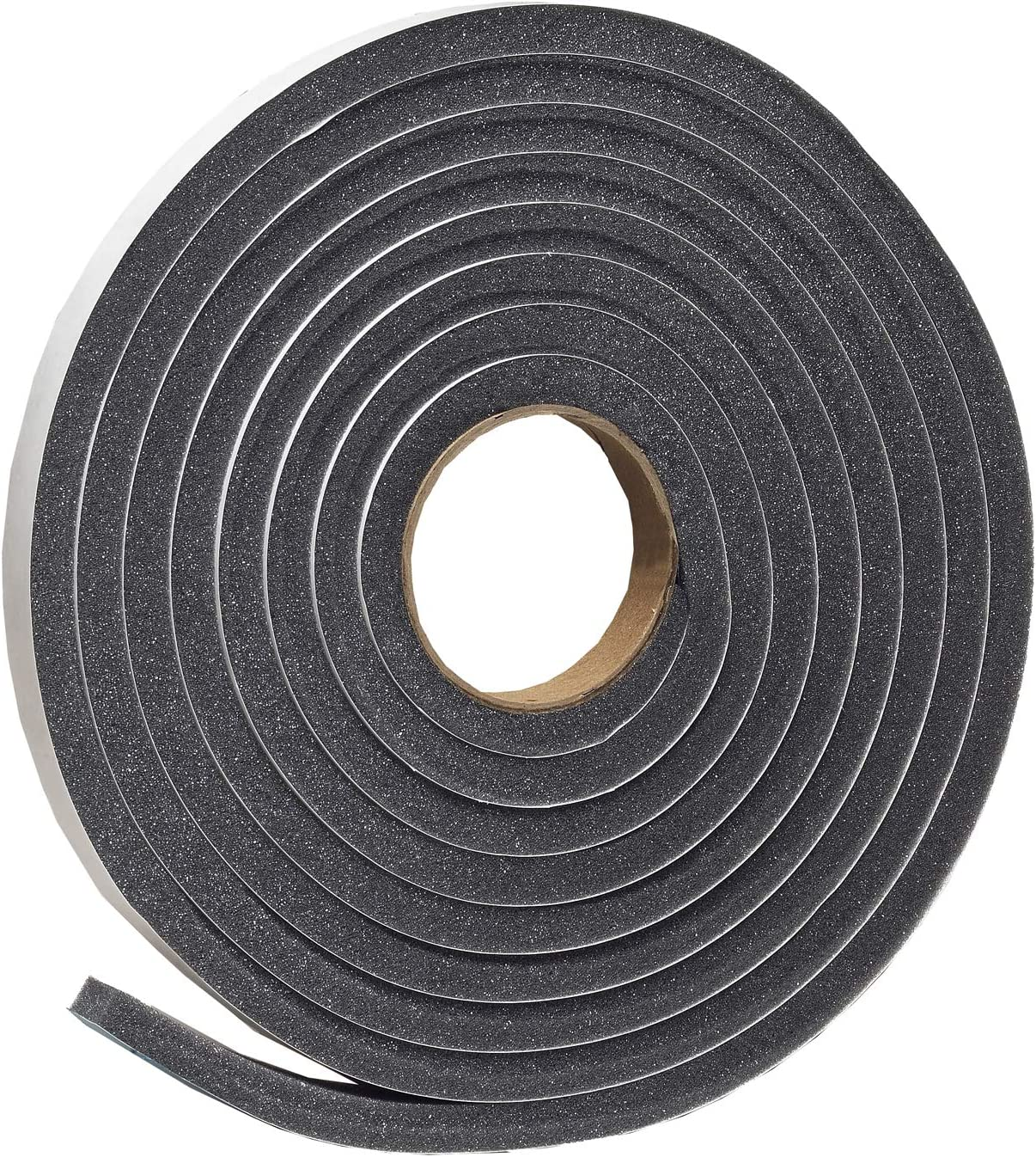 Frost King L346 Self-Adhesive Open Cell Tape Charcoal Polyfoam 17 Ft L X 3//4 in W 1//2 in T