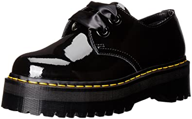 Dr. Martens Women's Holly Oxford, Black, 7 UK/9 ...
