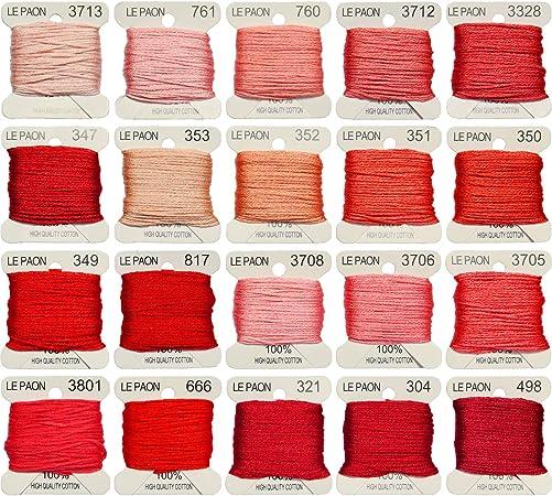 Premium Rainbow Color Embroidery Floss bobbins Cross Stitch Threads Friendship Bracelets Floss Crafts Floss 20 Bobbins Per Pack Embroidery Floss Bright Turquoise Gradient