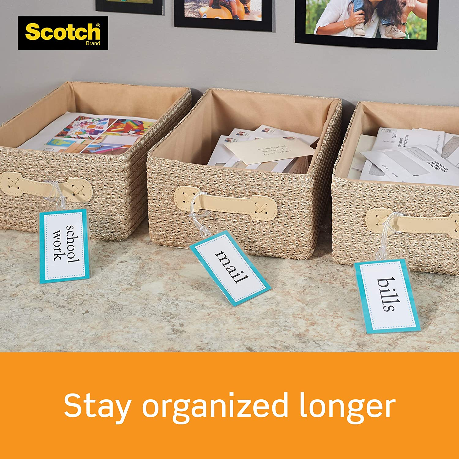 Pack 1 Scotch Brand Thermal Laminating Pouches 100-Pack 8.9 x 11.4 inches Clear, Letter Size Sheets