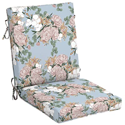 Arden Companies Arden + Artisans Giana Floral High Back Chair : Garden & Outdoor