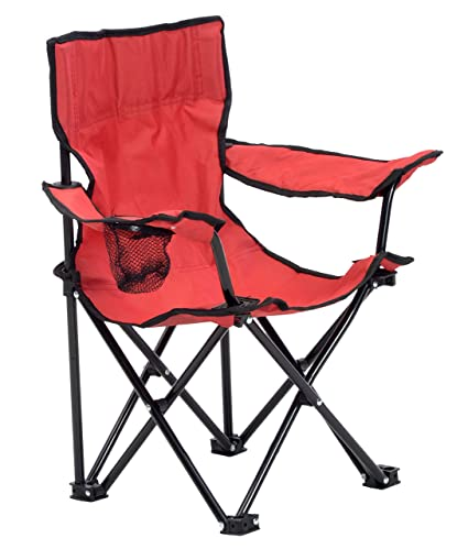 Amazon.com: Quik silla 167563ds Kid s silla plegable, rojo ...