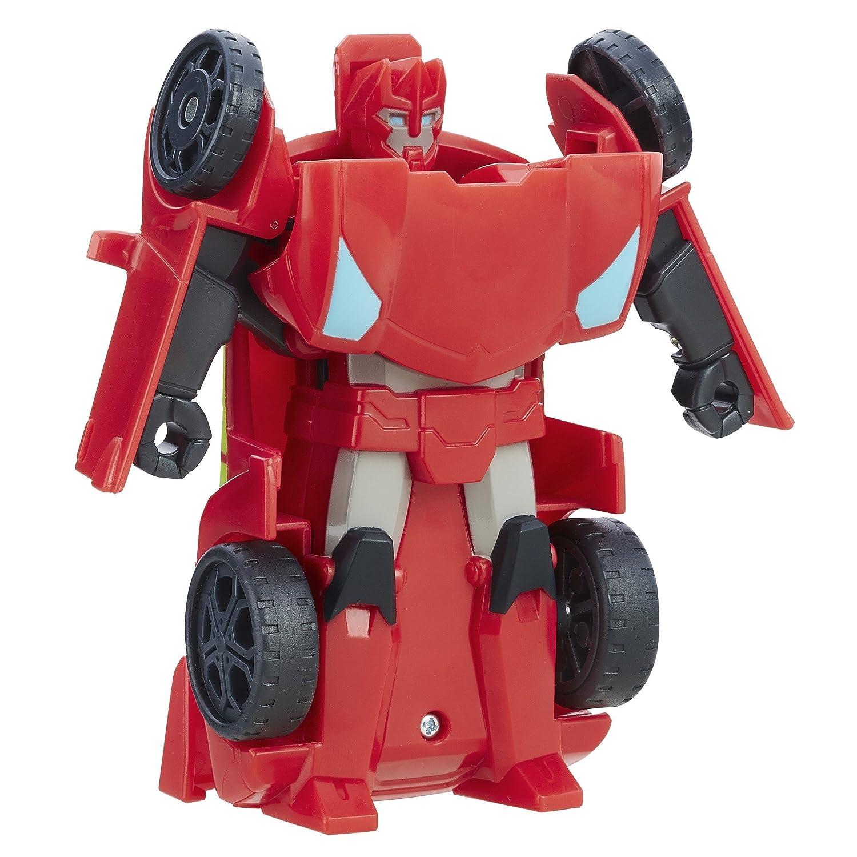 Hasbro – B7130 – Playskool Heroes – Transformers Rescue Bots – Sideswipe – 14 cm Spielfigur
