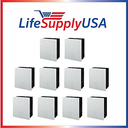 1 HEPA Filter G by LifeSupplyUSA 4 Carbon Pre Filters for Winix Part # 115122