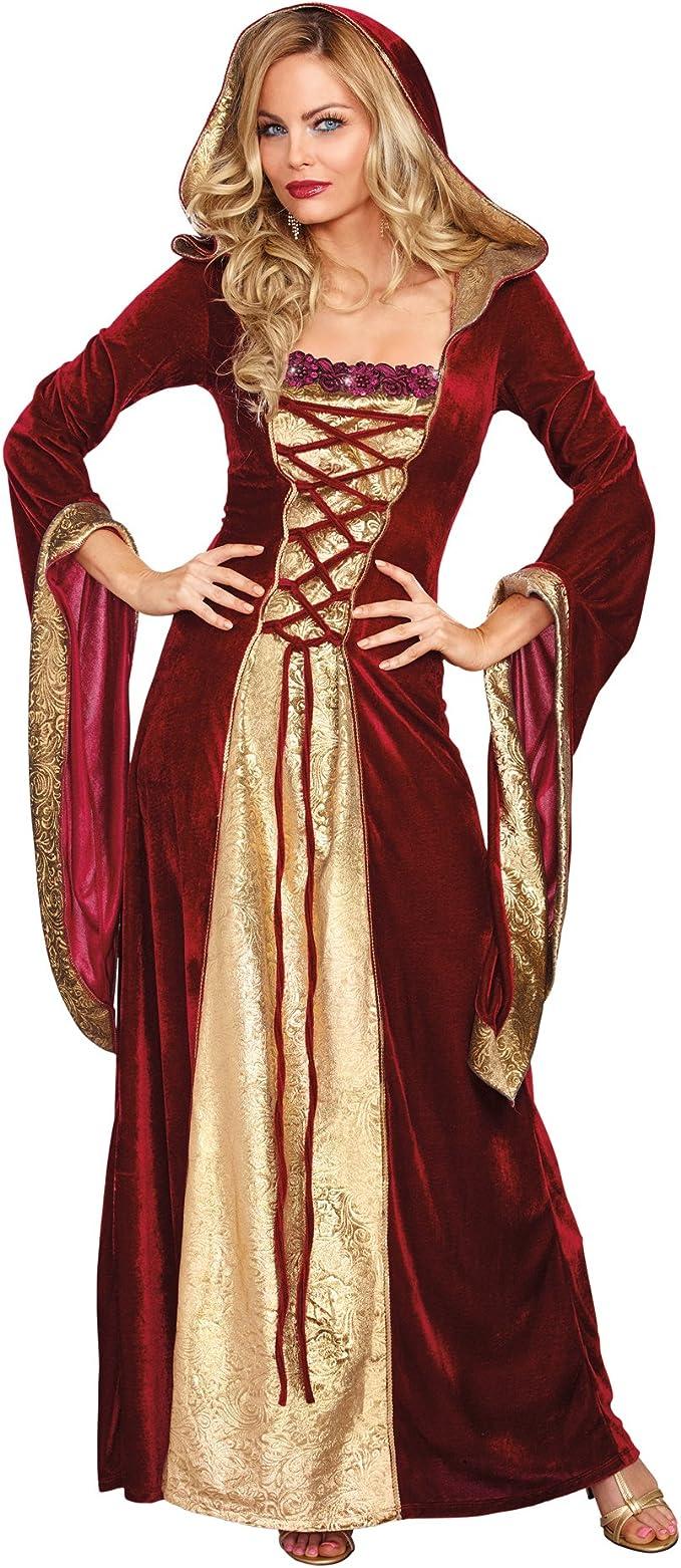 DreamGirl – 10265 Lady de Disfraz de Juego de Tronos (pequeño ...