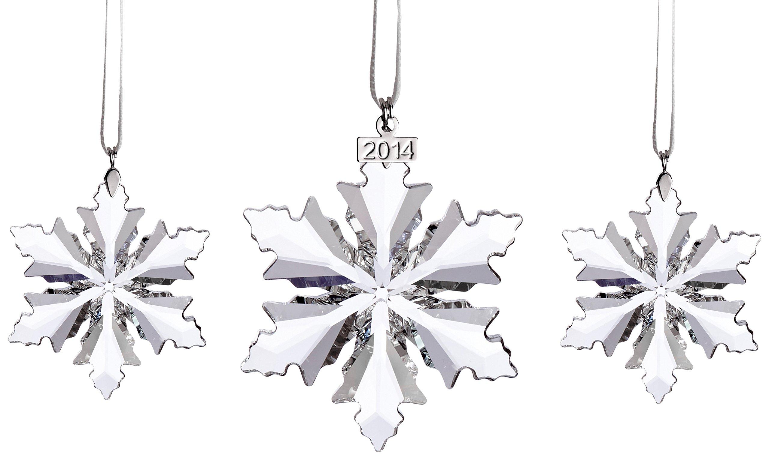 Swarovski 2014 3-Piece Christmas Ornament Set