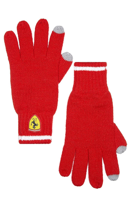 Branded London Scuderia Ferrari Hommes Gants Tricot/és