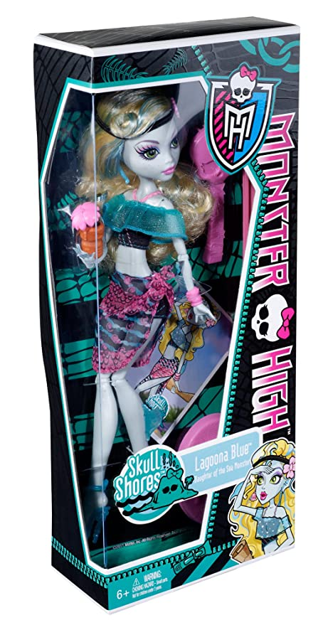 Monster High W9182 - Muñecas Isla Calavera Laggona (Mattel)