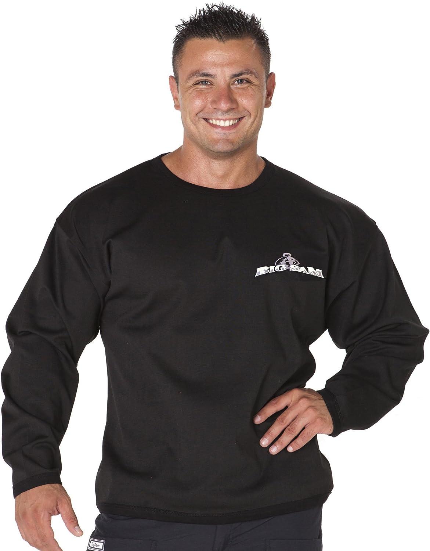 BIG SAM SPORTSWEAR COMPANY Bodybuilding Mens Sweater Sweatshirt Hoodie 4557