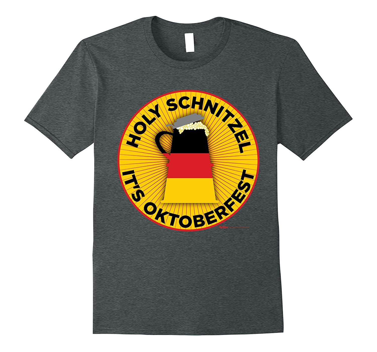 Holy Schnitzel It's Oktoberfest! 2017 Drinking T Shirt-BN