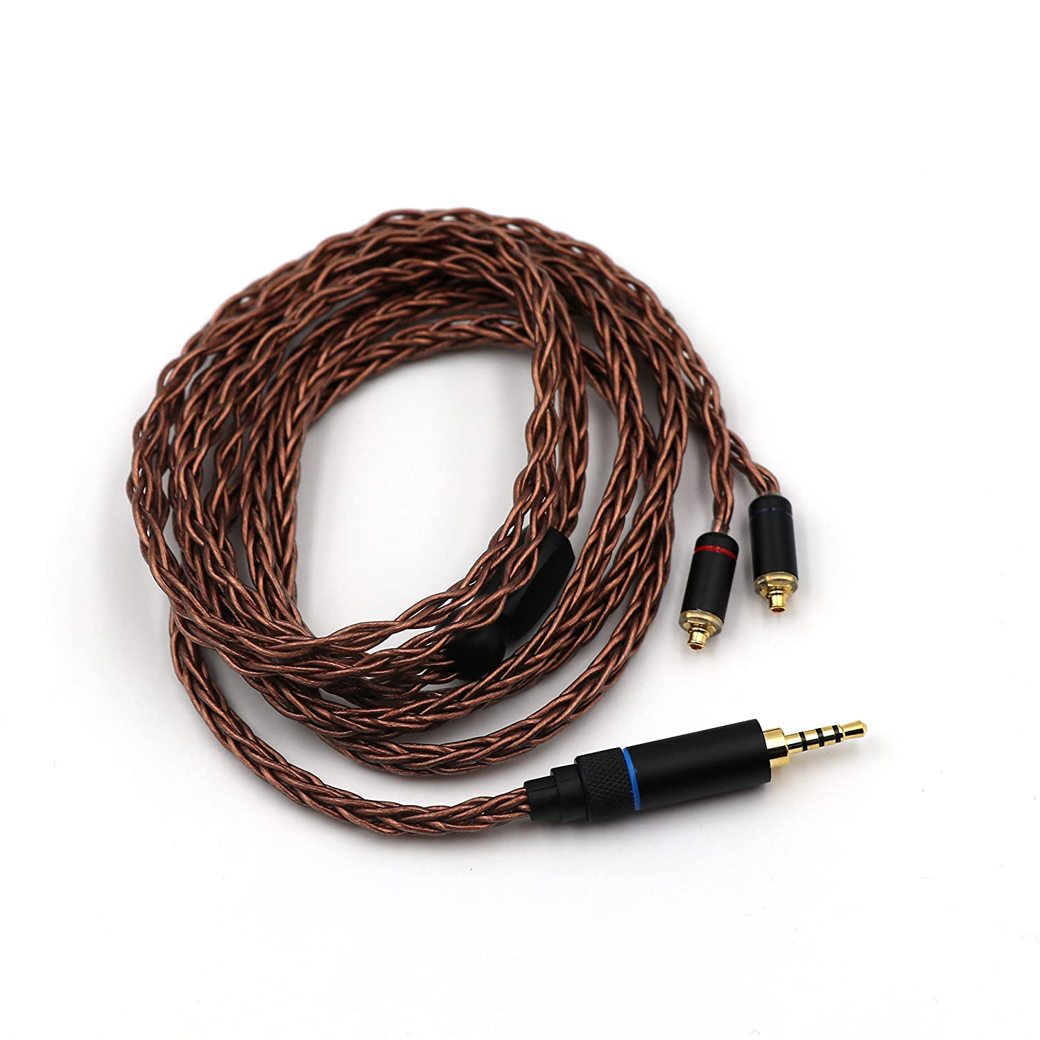 Amazon.com: Linsoul HC-08 HiFi OCC 8 Strands 19 Core - Cable ...
