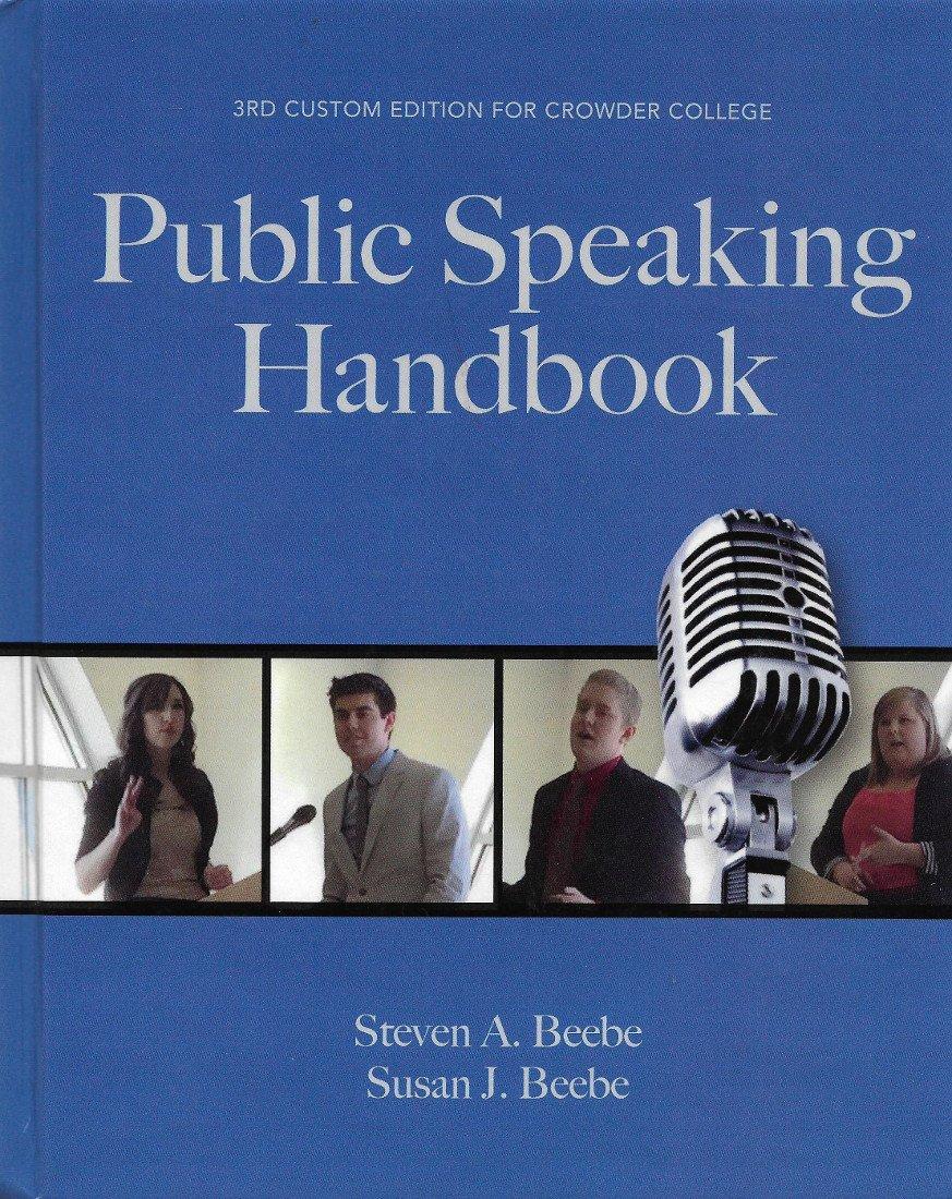 Download Public Speaking Handbook for Crowder College ebook