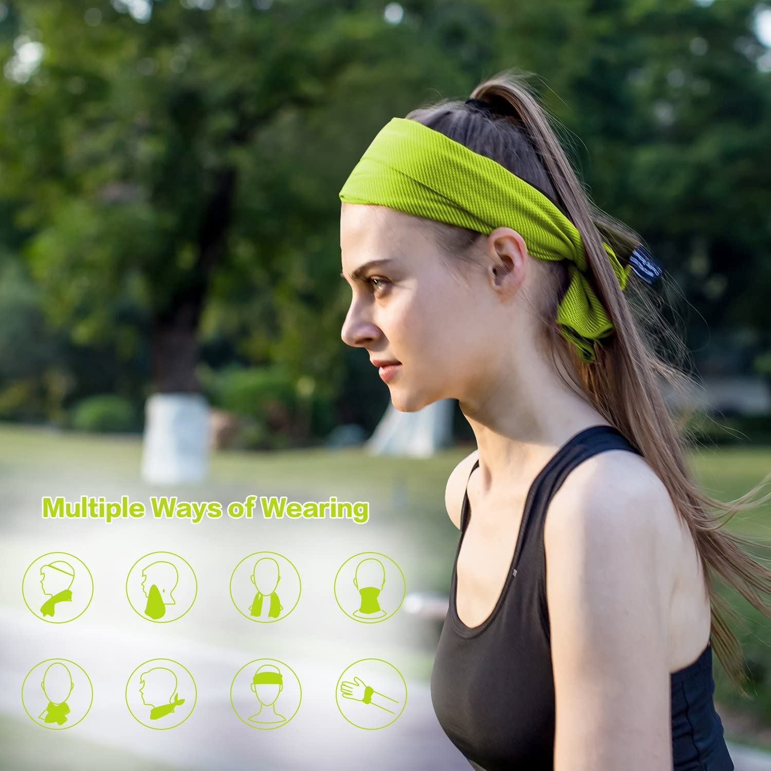 Travel Camping Fitness Yoga Bowling Gym Your Choice Cooling Towel Workout Golf Outdoor Sports Towel for Instant Cooling Relief Hiking