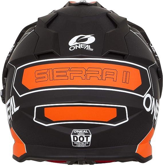 O Neal Sierra Ii Adventure Torment Enduro Mx Motorcycle Helmet Black White 2020 Black S Sport Freizeit