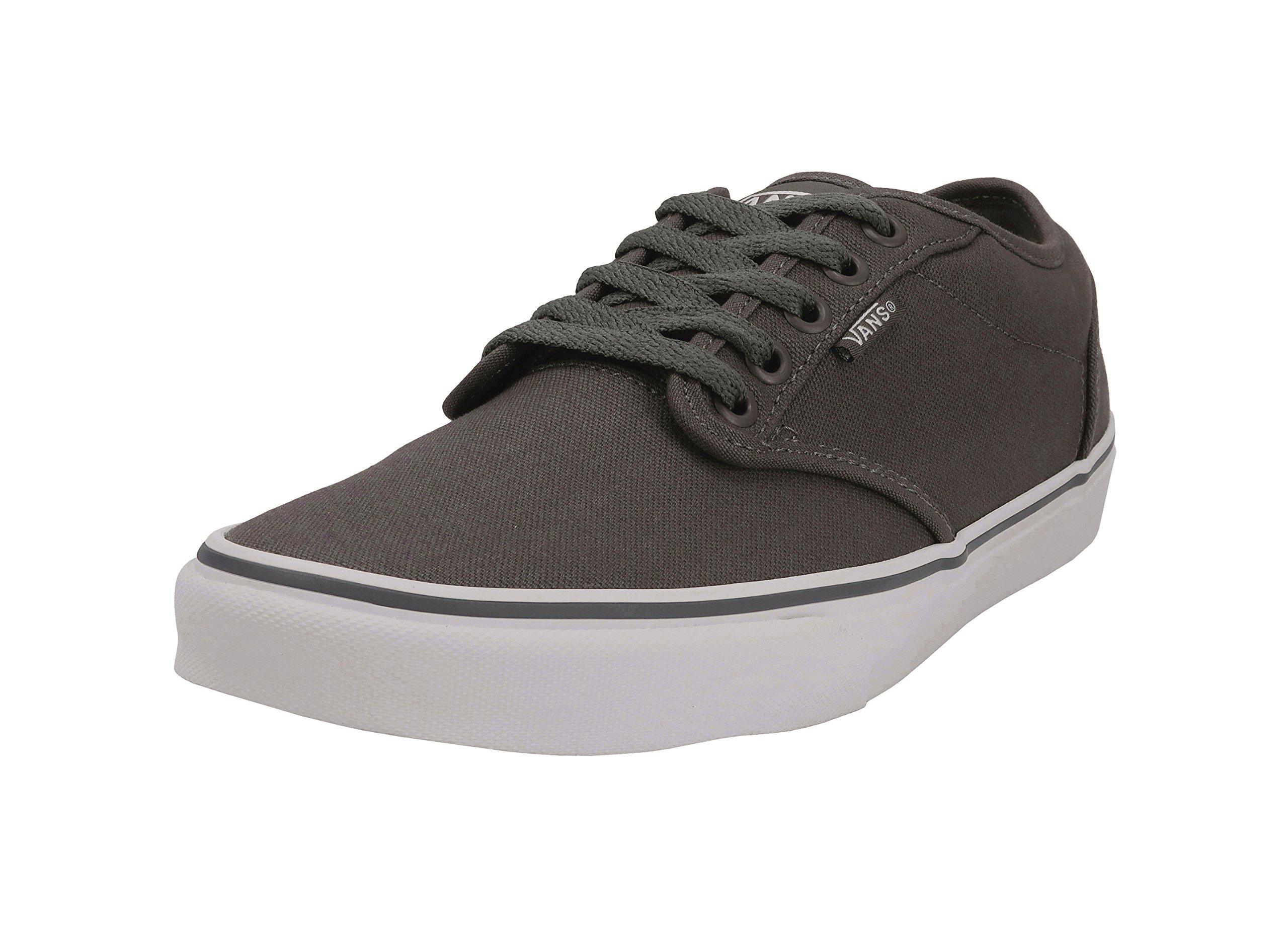 Vans Men's Atwood (Canvas) Pewter/White Skate Shoe 7.5 Men US by Vans