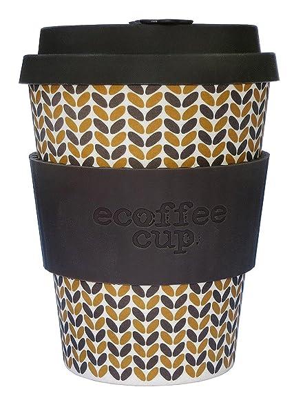 Ecoffee Bamboo Drip Threadneedle12oz Lidamp; With Dishwasher Safe FibreNo CupMade MGqSpzUV