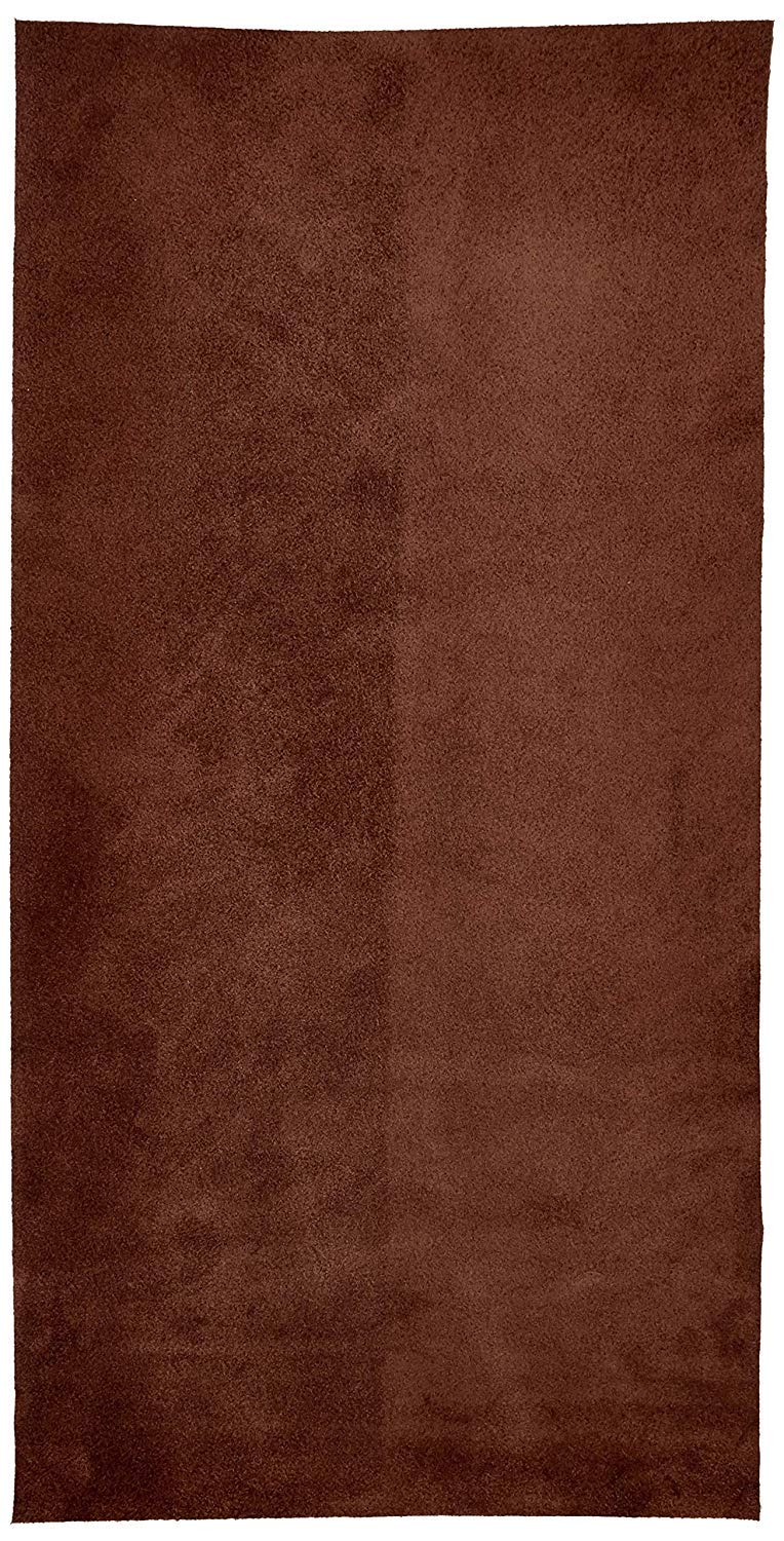 REED/® LEATHER HIDES COW SKINS VARIOUS COLORS /& SIZES 8 inches X 11 Inches, LIGHT BROWN