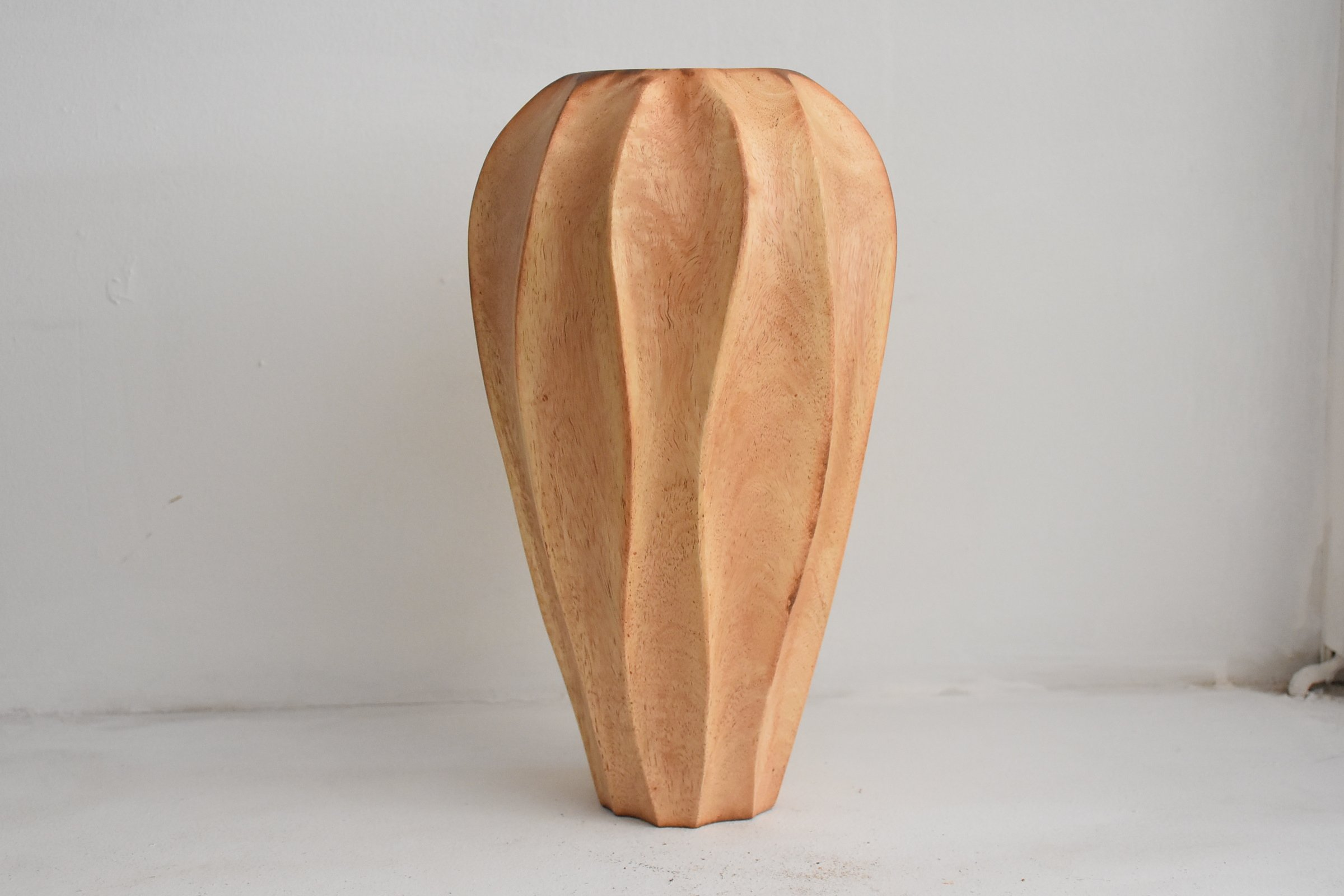 Quality From Factory Size (7''x12''')mango wood Vases Handmade Home
