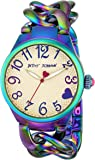 Betsey Johnson Women's 97L125 Analog Display Analog Quartz Gold Watch