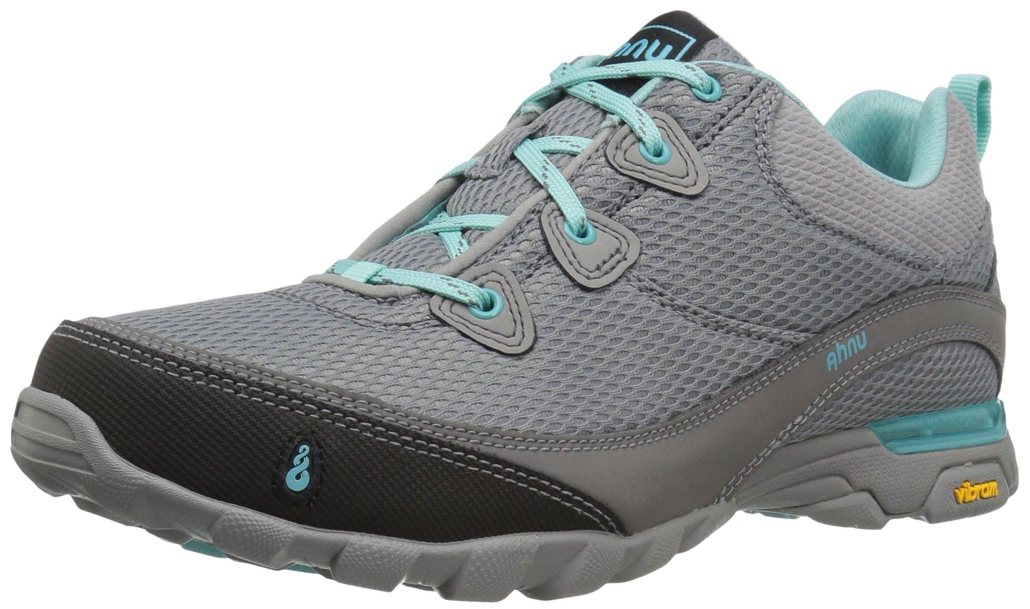 Ahnu Women's W Sugarpine Air Mesh Hiking Shoe, Medium Grey, 6.5 M US