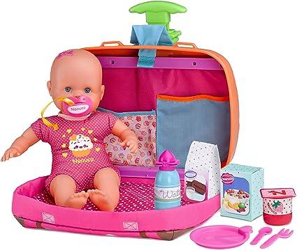 Oferta amazon: Nenuco Siempre Conmigo- Muñeco bebé con maletín (Famosa 700013791)
