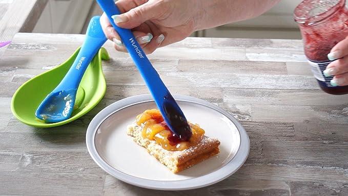 Compra Koch Maravillas Mini Espátula y cuchara de silicona apto para alimentos - Maravillas Cuchara - Rojo en Amazon.es